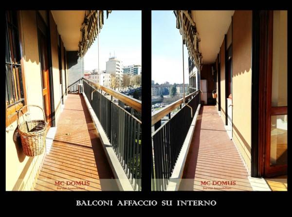 Appartamento in vendita a Milano, Bande Nere, Con giardino, 141 mq - Foto 7