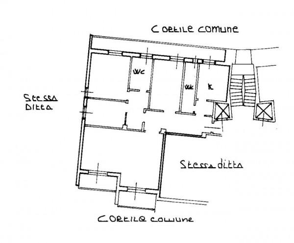 Appartamento in vendita a Milano, Bande Nere, Con giardino, 141 mq - Foto 4