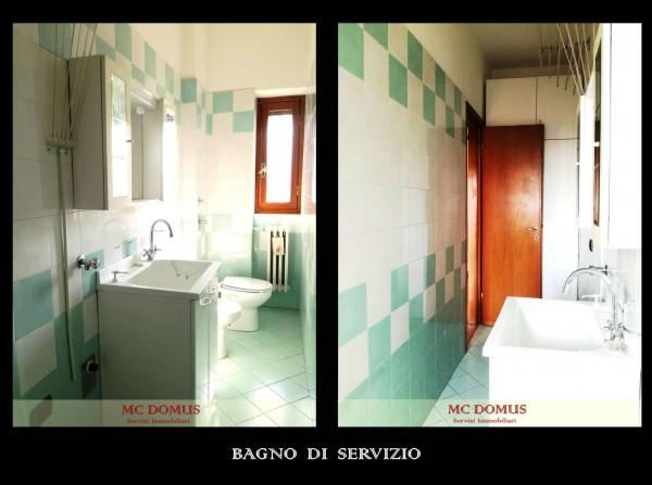 Appartamento in vendita a Milano, Bande Nere, Con giardino, 141 mq - Foto 8