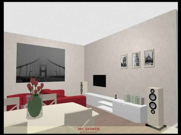 Appartamento in vendita a Milano, Melozzo Da Forli', 60 mq