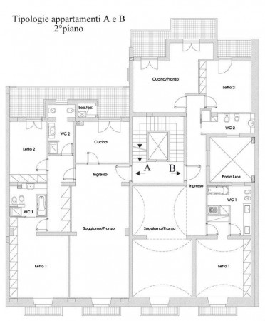 Appartamento in vendita a Taranto, Centrale, 138 mq - Foto 2