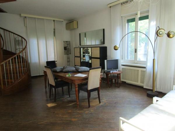 Appartamento in affitto a Milano, Porta Nuova, Arredato, con giardino, 100 mq