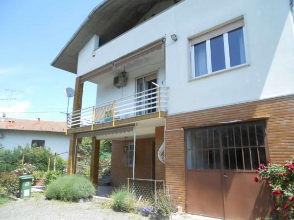 Casa indipendente in vendita a Capriata d'Orba, Adiacenze Centro, Arredato, con giardino, 250 mq