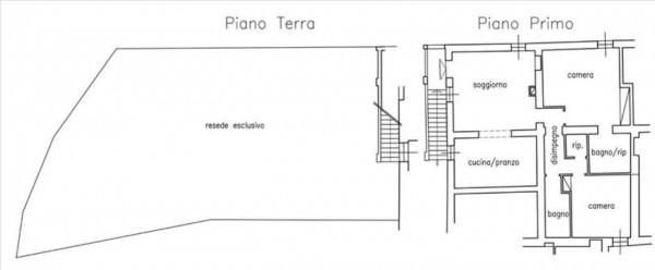 Appartamento in vendita a Monteroni d'Arbia, Con giardino, 129 mq - Foto 15