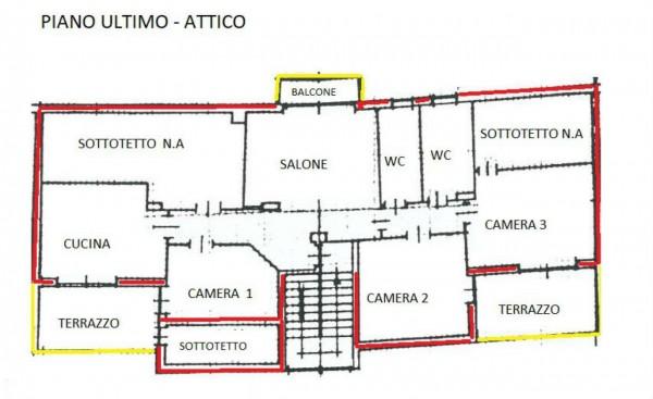Appartamento in vendita a Alpignano, Colgiansesco, Con giardino, 160 mq - Foto 17
