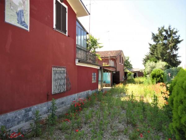 Casa indipendente in vendita a Alessandria, San Giuliano Nuovo, Con giardino, 100 mq