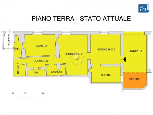 Appartamento in vendita a Firenze, Con giardino, 155 mq - Foto 4