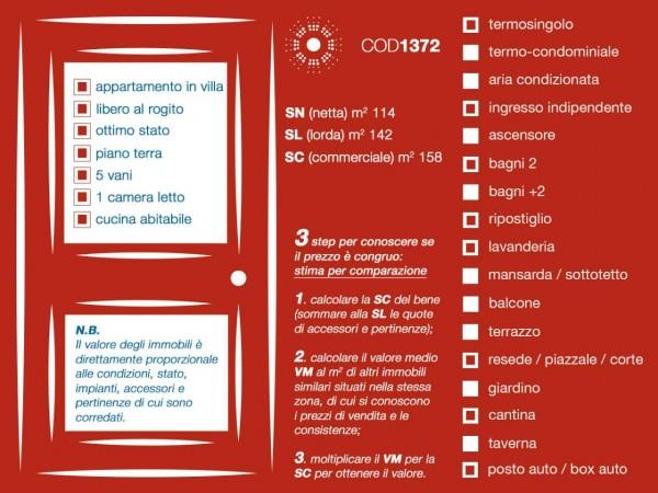 Appartamento in vendita a Firenze, Con giardino, 155 mq - Foto 45