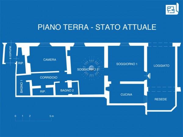 Appartamento in vendita a Firenze, Con giardino, 155 mq - Foto 32