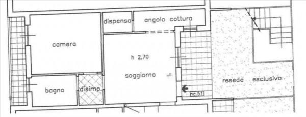 Appartamento in vendita a Sovicille, Con giardino, 64 mq