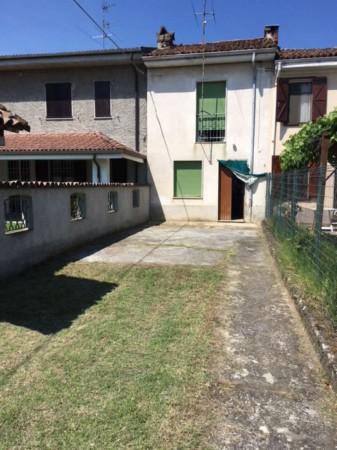 Villetta a schiera in vendita a Quargnento, Con giardino, 90 mq