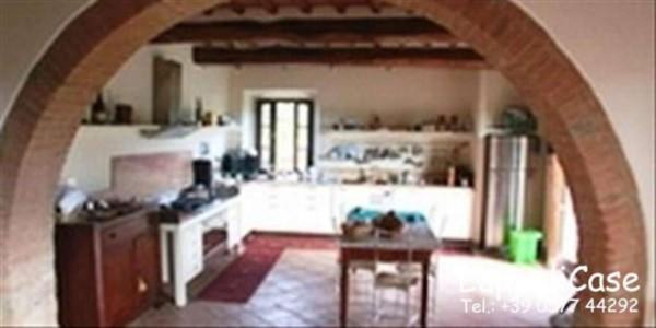 Villa in vendita a Castelnuovo Berardenga, Con giardino, 200 mq