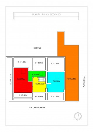 Appartamento in vendita a Torino, Parella, Arredato, 68 mq - Foto 3