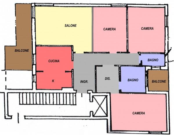 Appartamento in affitto a Spoleto, Spoleto Centro, 100 mq