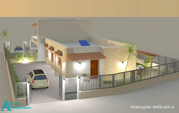 Villa in vendita a Taranto, Residenziale, Con giardino, 95 mq