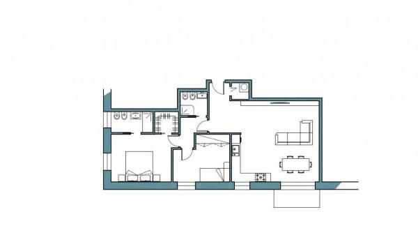 Appartamento in vendita a Milano, Giambellino, 75 mq - Foto 9