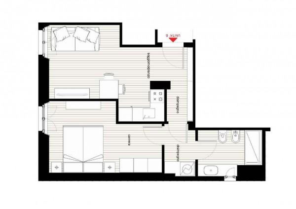 Appartamento in vendita a Milano, Caiazzo, 53 mq