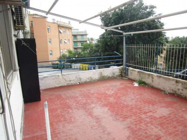 Appartamento in vendita a Genova, Sampierdarena, Con giardino, 120 mq
