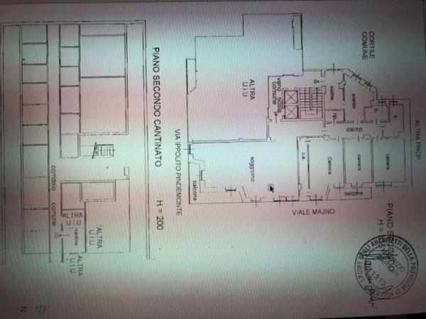 Appartamento in vendita a Milano, Monforte, Con giardino, 220 mq - Foto 7