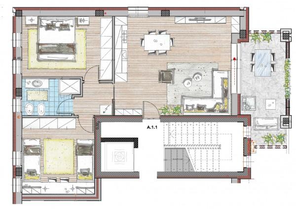 Appartamento in vendita a Cassano d'Adda, Naviglio Martesana, 91 mq
