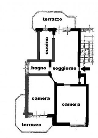 Appartamento in vendita a Torino, Rebaudengo, Con giardino, 90 mq - Foto 2