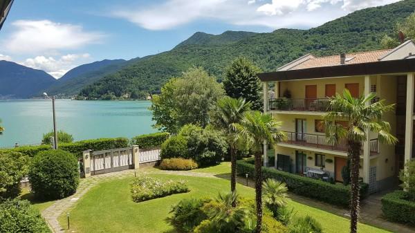 Appartamento in affitto a Porto Ceresio, Arredato, con giardino, 80 mq