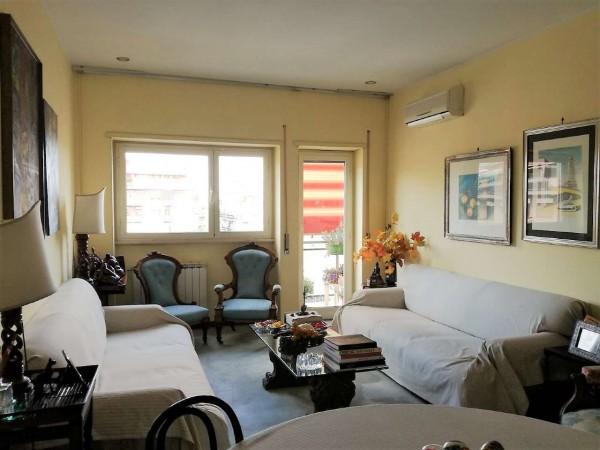 Appartamento in vendita a Roma, Arredato, 93 mq