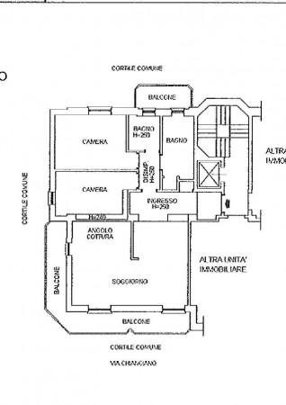 Appartamento in vendita a Milano, Affori Centro, Con giardino, 110 mq - Foto 2