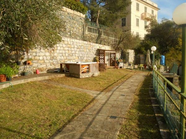 Appartamento in vendita a Santa Margherita Ligure, Prima Collina, Con giardino, 110 mq - Foto 24