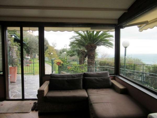 Appartamento in vendita a Santa Margherita Ligure, Prima Collina, Con giardino, 110 mq - Foto 20
