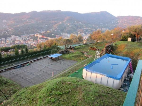 Appartamento in vendita a Santa Margherita Ligure, Prima Collina, Con giardino, 110 mq - Foto 23