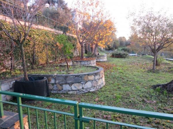 Appartamento in vendita a Santa Margherita Ligure, Prima Collina, Con giardino, 110 mq - Foto 22