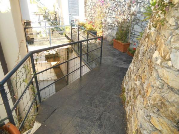 Appartamento in vendita a Zoagli, Semi Centro, Con giardino, 120 mq - Foto 19