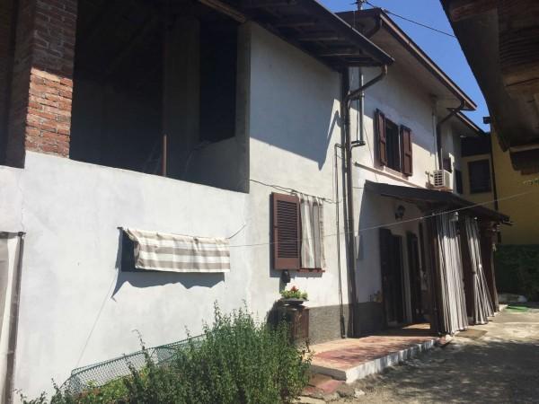 Casa indipendente in vendita a Borghetto Lodigiano, Con giardino, 70 mq