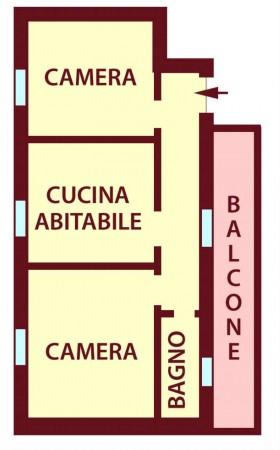 Appartamento in vendita a Bologna, 60 mq