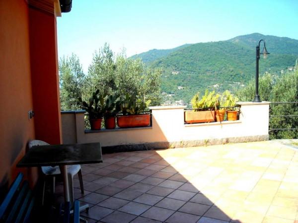 Villa in vendita a Recco, Liceto, Con giardino, 200 mq - Foto 49