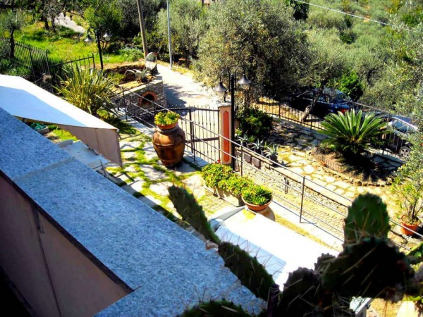 Villa in vendita a Recco, Liceto, Con giardino, 200 mq - Foto 19