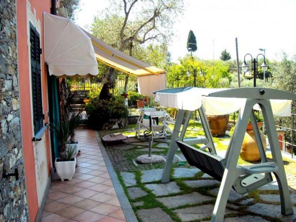 Villa in vendita a Recco, Liceto, Con giardino, 200 mq - Foto 39