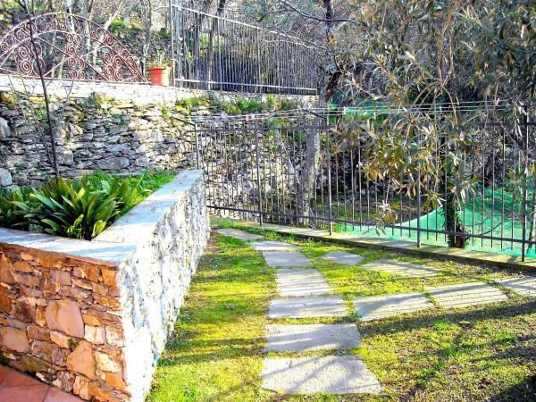 Villa in vendita a Recco, Liceto, Con giardino, 200 mq - Foto 27