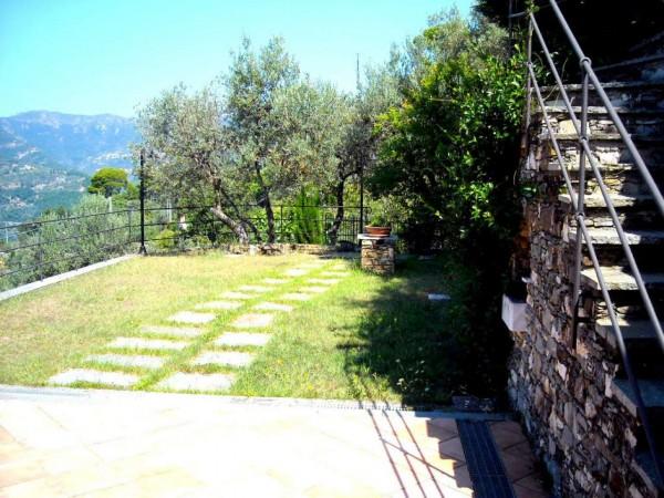 Villa in vendita a Recco, Liceto, Con giardino, 200 mq - Foto 31
