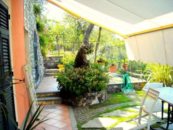 Villa in vendita a Recco, Liceto, Con giardino, 200 mq - Foto 44