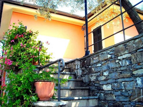 Villa in vendita a Recco, Liceto, Con giardino, 200 mq - Foto 7