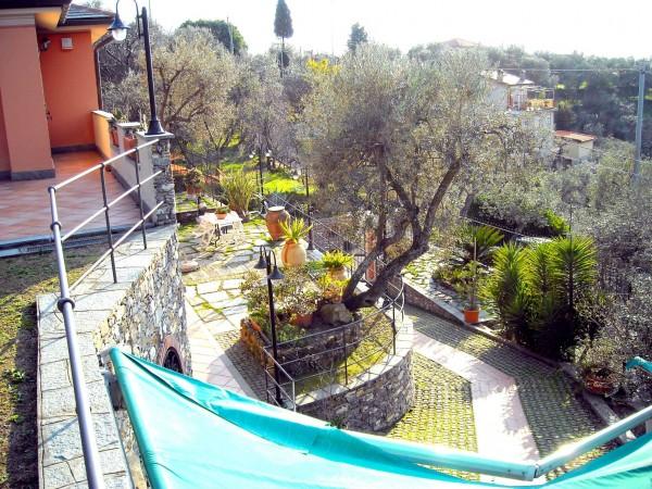 Villa in vendita a Recco, Liceto, Con giardino, 200 mq - Foto 20