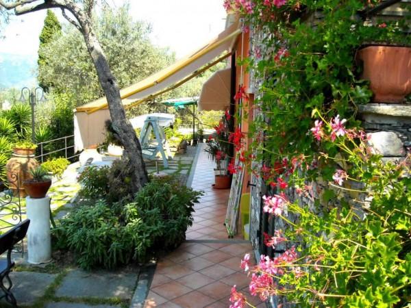 Villa in vendita a Recco, Liceto, Con giardino, 200 mq