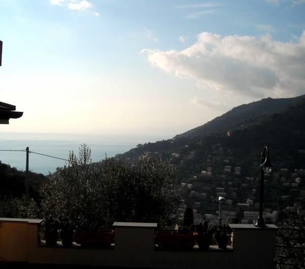 Villa in vendita a Recco, Liceto, Con giardino, 200 mq - Foto 2