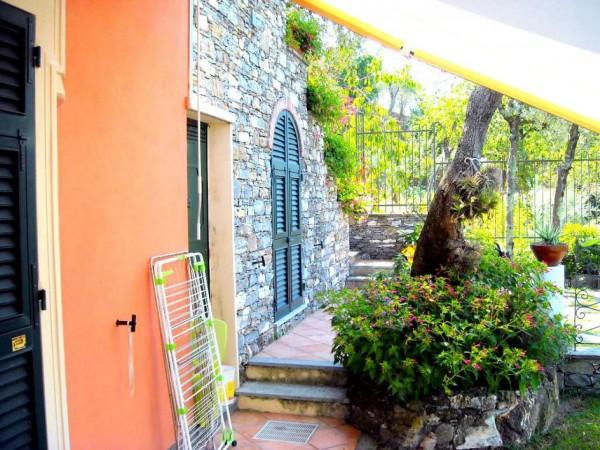 Villa in vendita a Recco, Liceto, Con giardino, 200 mq - Foto 38