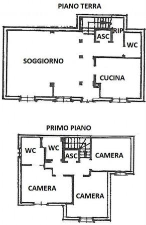 Villa in vendita a Recco, Liceto, Con giardino, 200 mq - Foto 50
