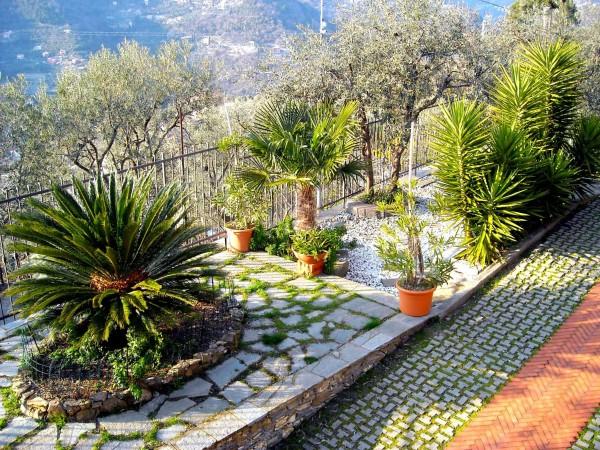 Villa in vendita a Recco, Liceto, Con giardino, 200 mq - Foto 45