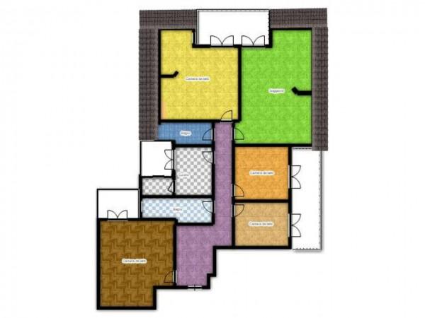 Appartamento in vendita a Genova, Con giardino, 192 mq - Foto 14