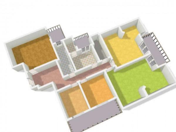 Appartamento in vendita a Genova, Con giardino, 192 mq - Foto 15
